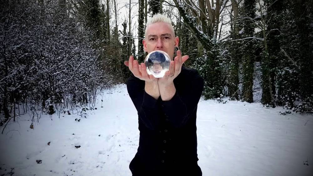 Snow Day Contact Juggling