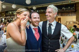 Alternative wedding ideas - wedding magician kent